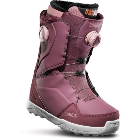 Womens ThirtyTwo Lashed Double Boa Snowboard boots (rose)
