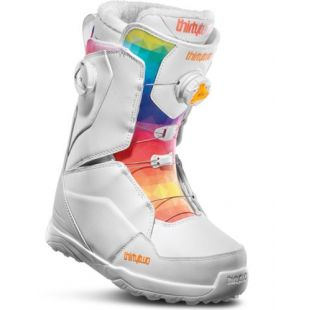 Womens ThirtyTwo Lashed Double Boa Snowboard boots (white)