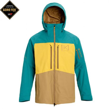 Куртка Burton AK Gore Swash green-blue slate/maize/kelp