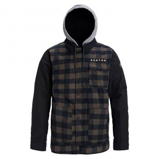 Куртка Burton Dunmore true black heather buffalo plaid