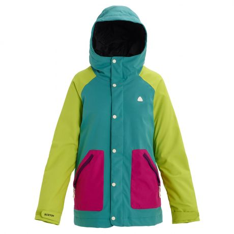 Куртка Burton Wms Eastfall green-blue slate/tender shoots/f