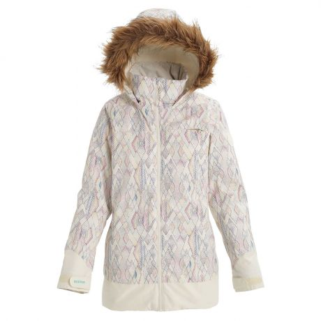 Куртка Burton Wms Lelah diamond dot/stout white