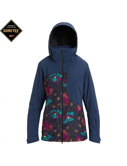 Куртка Burton Wms AK Gore Embark dress blue/bona flora