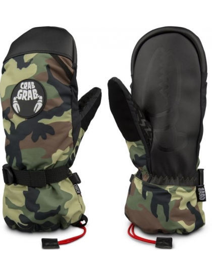 Crab Grab Cinch Mitt Gloves (classic camo)