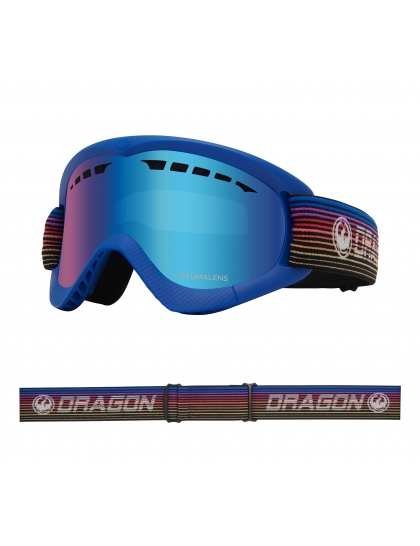 Маска Dragon DXS (gamer/lumalens blue ion)