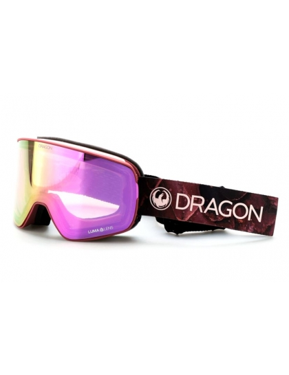 Маска Dragon NFX2 (rose/lumalens pink ion/lumalens dark smoke)