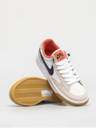 Кеды Nike SB Adversary Premium (white/midnight navy turf orange)