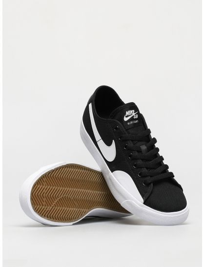 Кеды Nike SB Blazer Court (black/white black gum light brown)