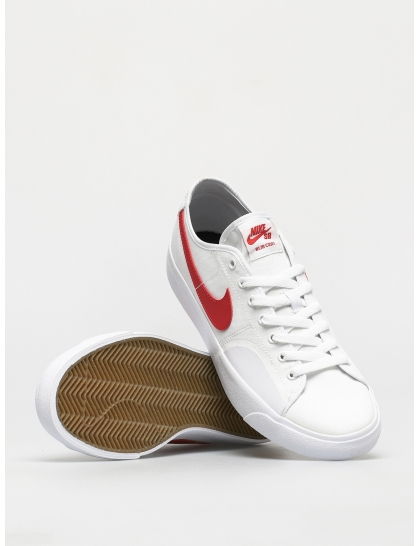 Кеды Nike SB Blazer Court (white/university red white black)