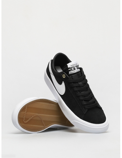 Кеды Nike SB Zoom Blazer Low Pro Gt (black/white black gum light brown)