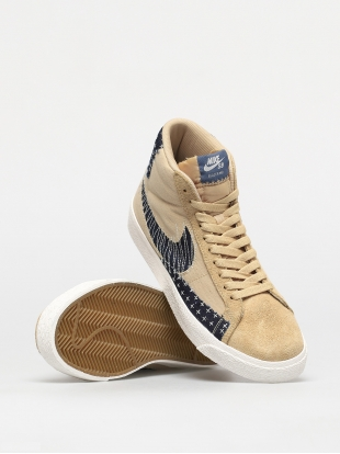 Кеды Nike SB Zoom Blazer Mid Premium (sesame/mystic navy sail gum light brown)