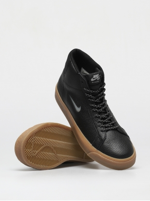 Кеды Nike SB Zoom Blazer Mid Premium (black/white black gum light brown)