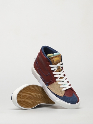 Кеды Nike SB Zoom Blazer Mid Edge (team red/navy light dew summit white)