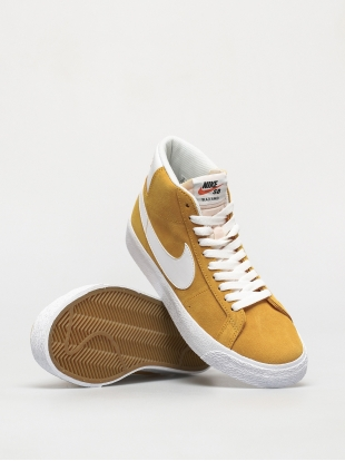 Кеды Nike SB Zoom Blazer Mid (university gold/white university gold)