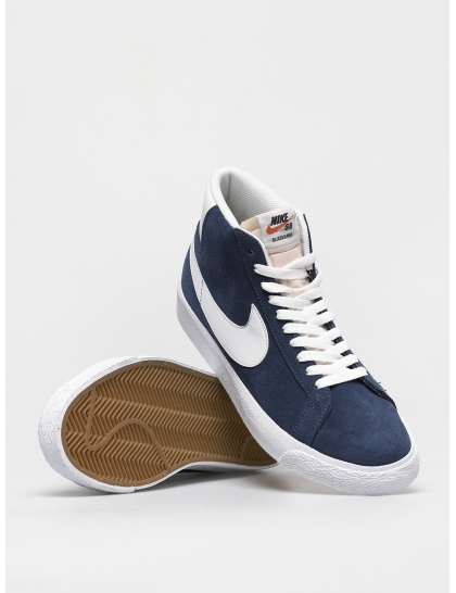 Кеды Nike SB Zoom Blazer Mid (navy/white black university red)