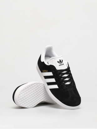 Кеды Adidas Originals Gazelle (cblack/white/goldmt)
