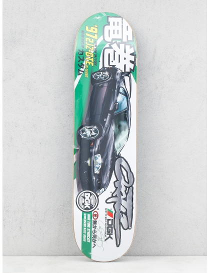 DGK Deck Tuner Ortiz (green/black/white)
