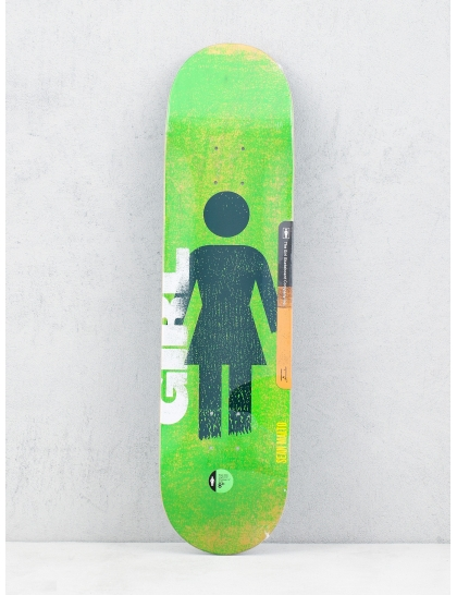 Girl Skateboard Deck Malto Roller Og (green)