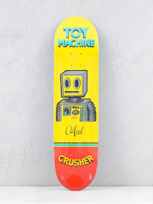 Toy Machine Deck Axel Pen N Ink (yellow/red)