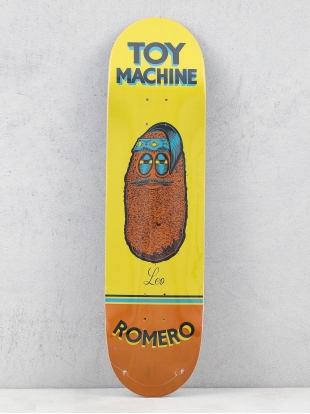 Toy Machine Deck Romero Pen N Ink (yellow/brown)